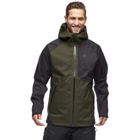 Black Diamond Boundary Line Insulated Jacket Men, cypress/black